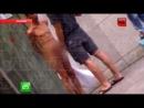 Пьяный Алексей Панин вышел голым на улицу.