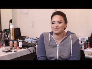 Demi Lovato's Photo Shoot For NYC New York Color Cosmetics Beauty