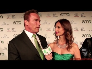 Arnold Schwarzenegger on Climate Change -EMA Awards -Green with Tiffany