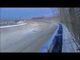 Михаил Алёшин попал в тяжелую аварию на гонках Индикар.