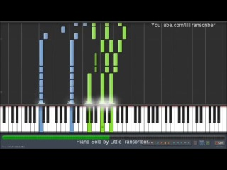 ADELE - SET FIRE TO THE RAIN (PIANO COVER) BY LITTLETRANSCRIBER