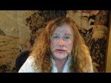 Дэйв Мастейн приглашает на концерты Megadeth
