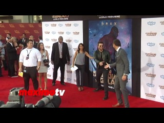 Bradley Cooper BOOED! | Guardians of the Galaxy | World Premiere | Red Carpet