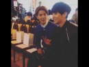 [LQ FANCAM] 141022 Chanyeol & Sehun @ Seoul Fashion Week